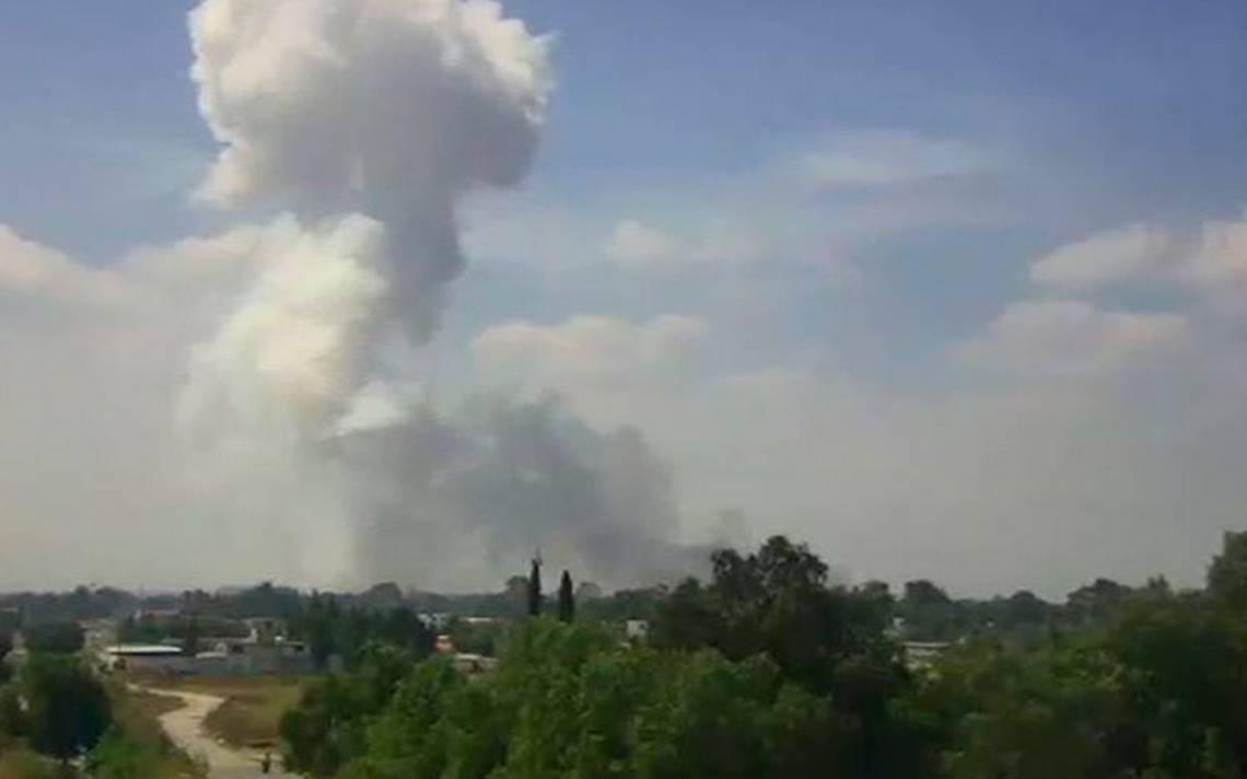 Dos muertos deja explosión de polvorín en Zumpango - El Sol de México