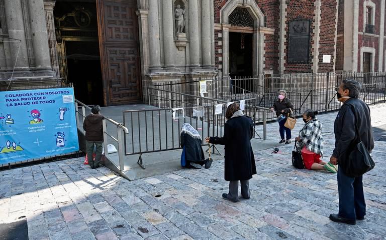 Templos cerrados en México