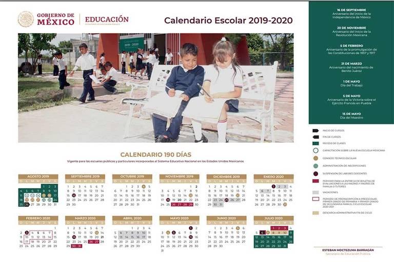 Calendario Julio Del 2000.Proximo Ciclo Escolar Sera De 190 Dias Comienza Este 26 De