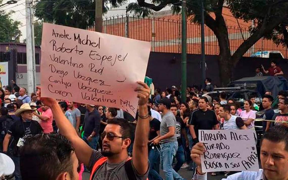 Suman 42 muertos en Morelos por temblor de este martes