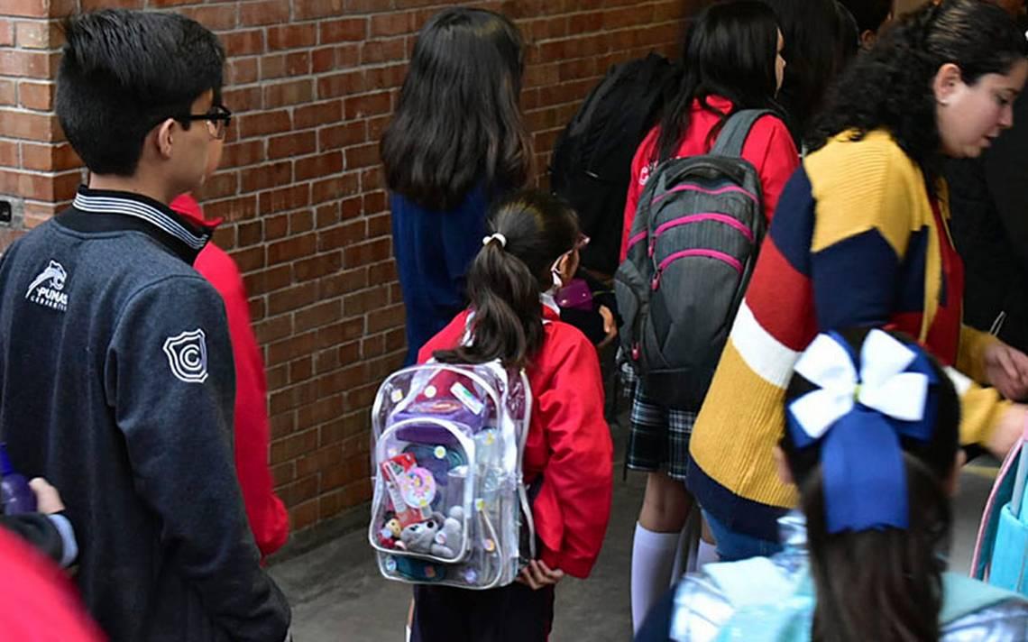 Resultado de imagen para Con fuertes medidas de seguridad vuelven niños a Colegio Cervantes