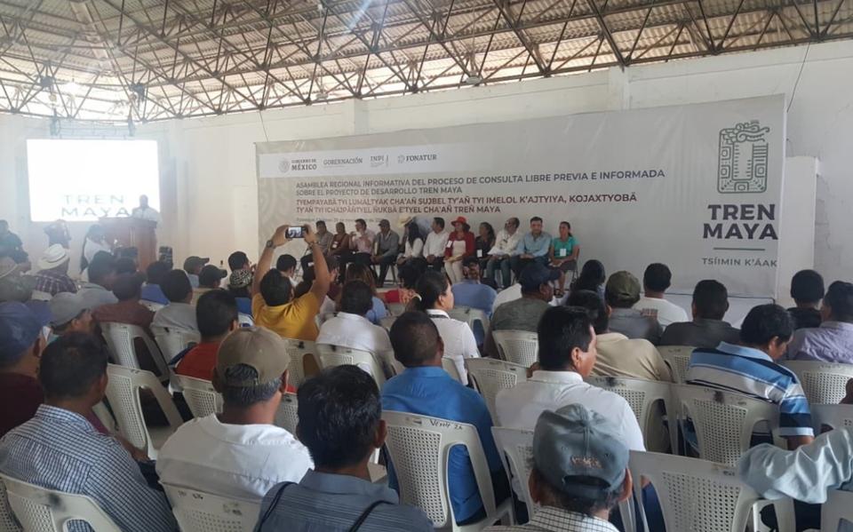 Concluyen las asambleas informativas para grupos indígenas sobre Tren Maya