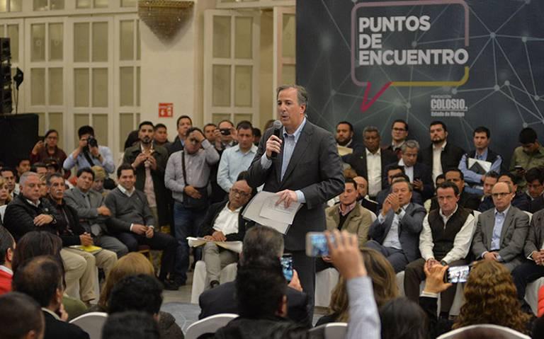 Meade pide tregua a partidos políticos para impulsar el Sistema Nacional Anticorrupción