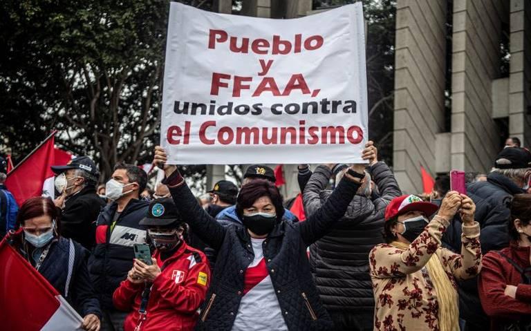 Militares retirados protestan por supuesto fraude electoral en Perú - El  Sol de México | Noticias, Deportes, Gossip, Columnas