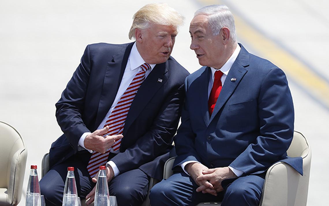 Llega Donald Trump a Israel en busca de diálogo palestino-israelí ...