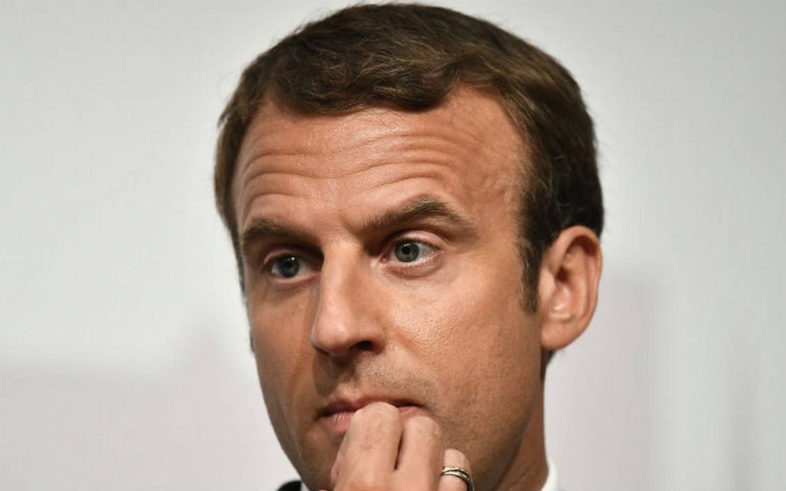 Critican costo de maquillaje de presidente Emmanuel Macron