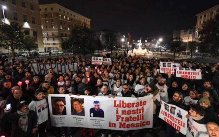 Italia envía policías a México por napolitanos desaparecidos