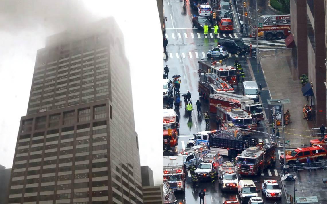 Resultado de imagen para No hay indicios de terrorismo en choque de helicóptero en Nueva York