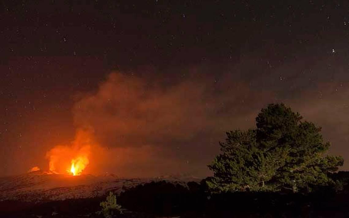 APTOPIX Italy Volcano