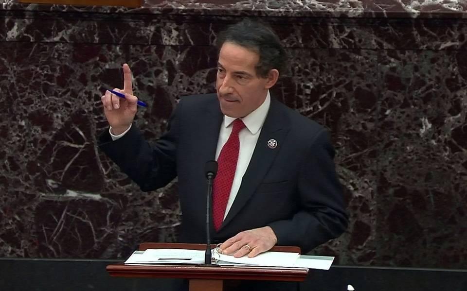 Resultado de imagen para jamie raskin en el senado