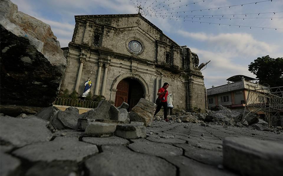 Otro sismo sacude Filipinas; ahora de magnitud 6.4 grados - El Sol de México