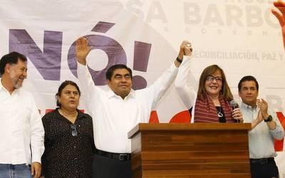1c7a7720827c Elecciones 2019   Puebla elige nuevo gobernador tras muerte de ...