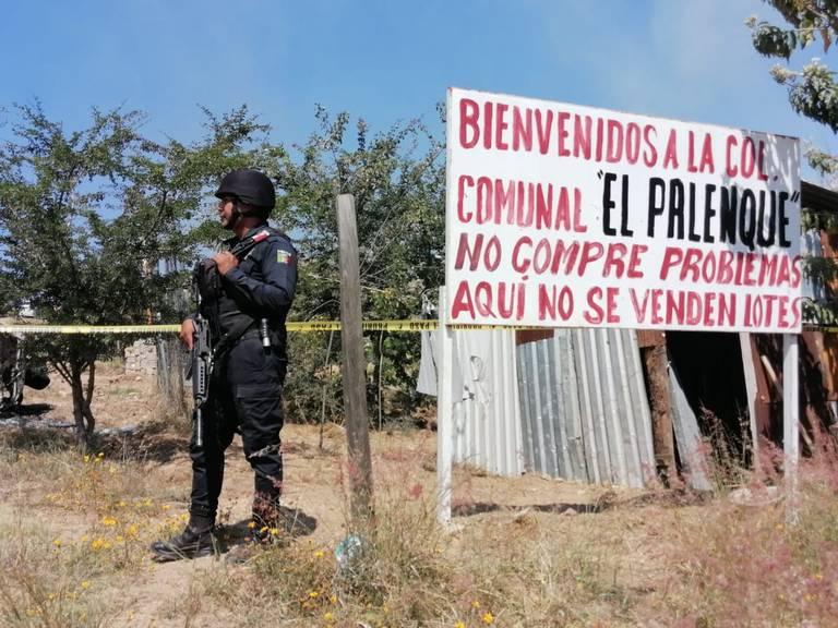 Recupera el INAH predios cercanos a Monte Albán tras desalojo