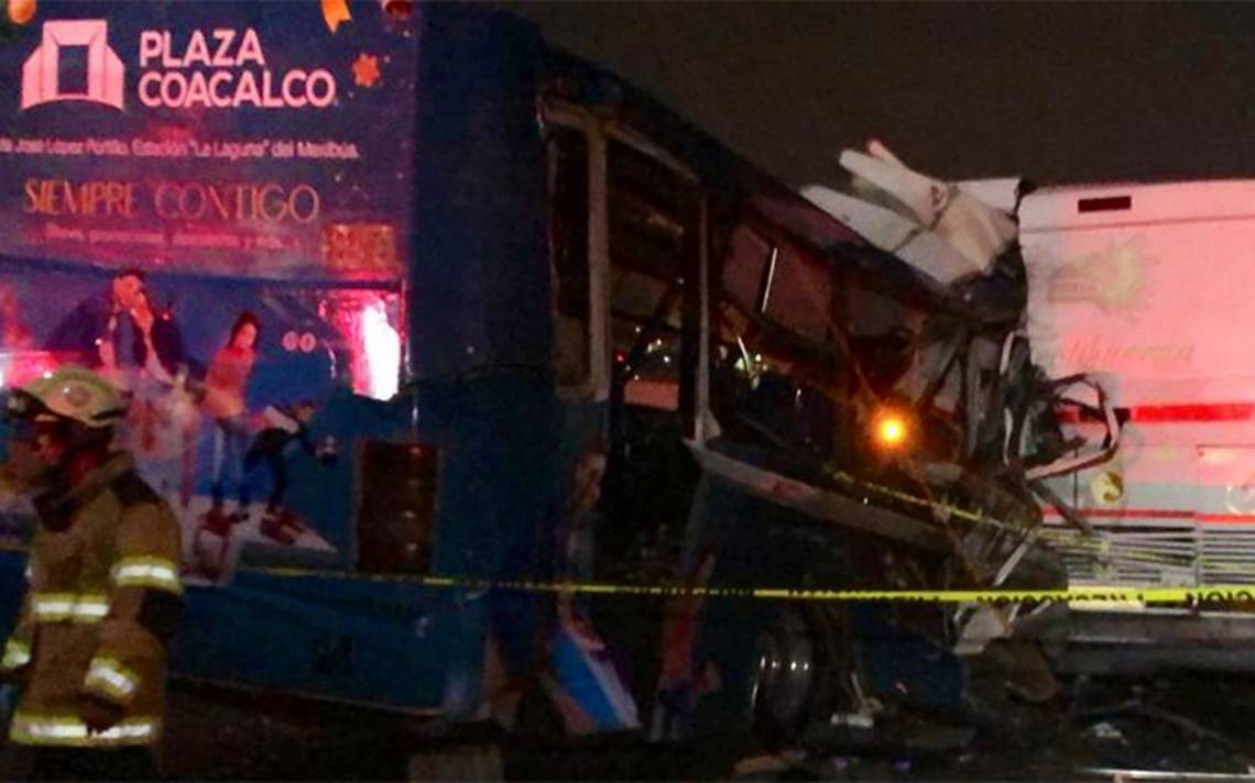 Accidente en la México-Pachuca deja al menos 10 muertos - El Sol de México