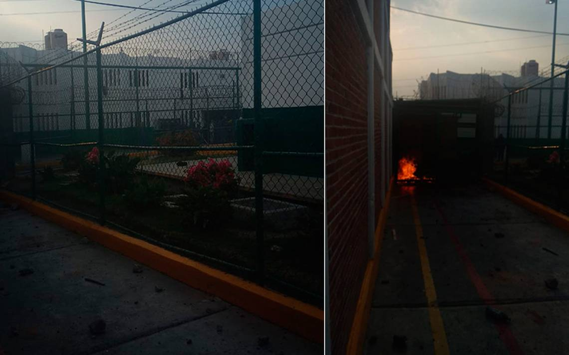 Motín en penal de Molino de Flores de Texcoco