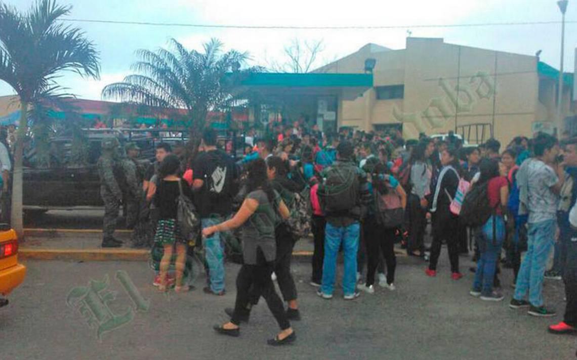 Por Amenaza De Bomba Desalojan A Estudiantes De Una
