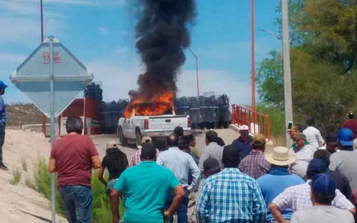 Así comenzó el conflicto por el agua y los agricultores en Chihuahua - El  Sol de México