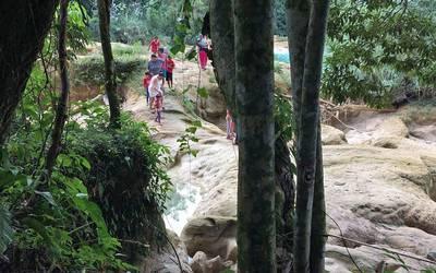 Regularán la entrada a Agua Azul - El Sol de San Juan del Río